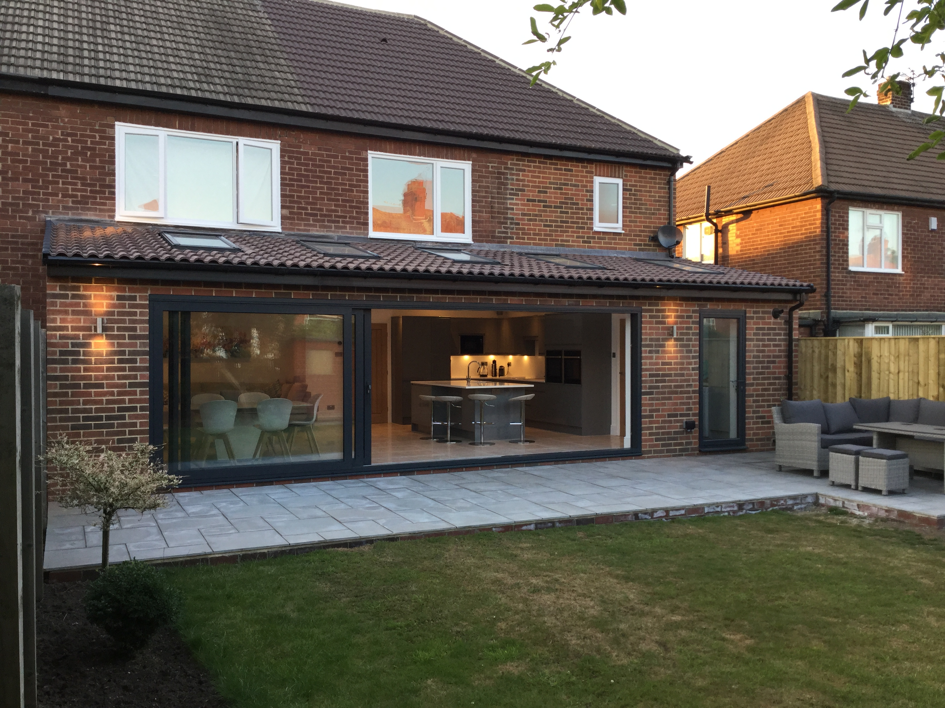 Rear and Side Extension in Tynemouth - JD Joinery